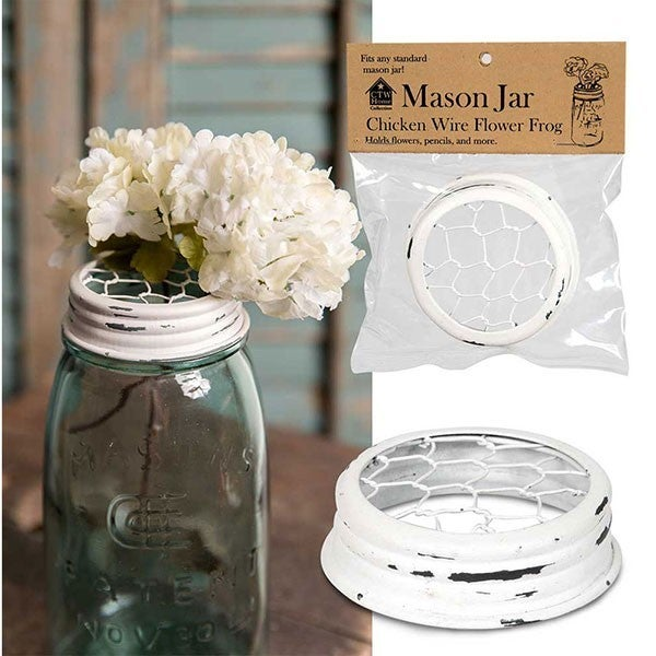 Chicken Wire Mason Jar Cover
