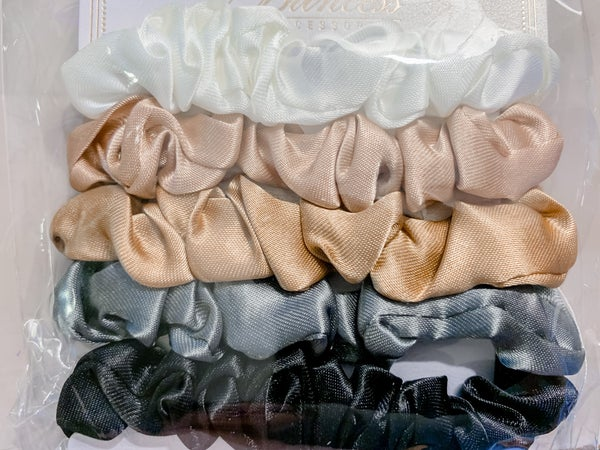 Set of 5 Mini Srunchies