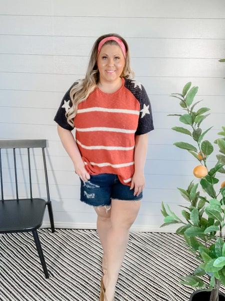 America Knit Pullover