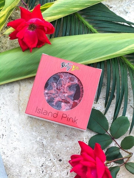 Island Pink Loofah Soap