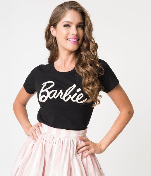 PLUS/REG Barbie Graphic Tee *FINAL SALE*