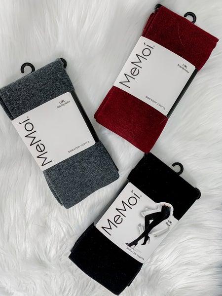 PLUS/REG Sweater Flat Knit Tights