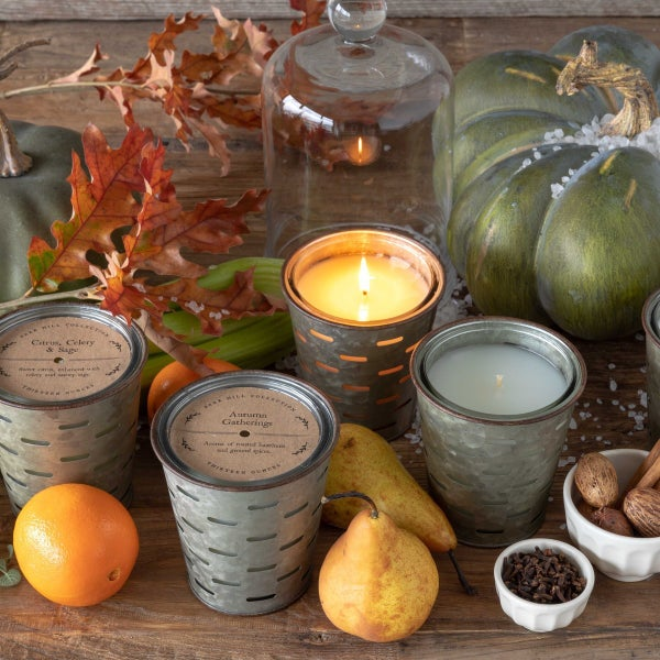 Autumn Spice Bucket Candle