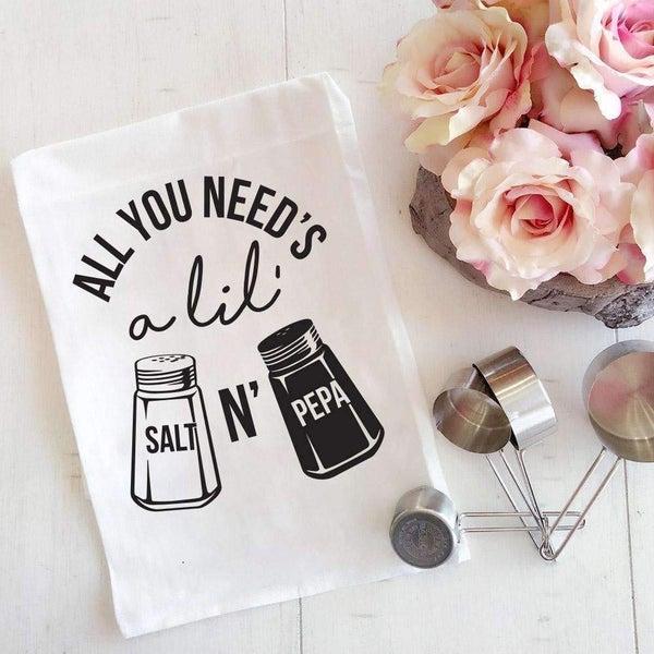 Salt N Pepa Kitchen Towel