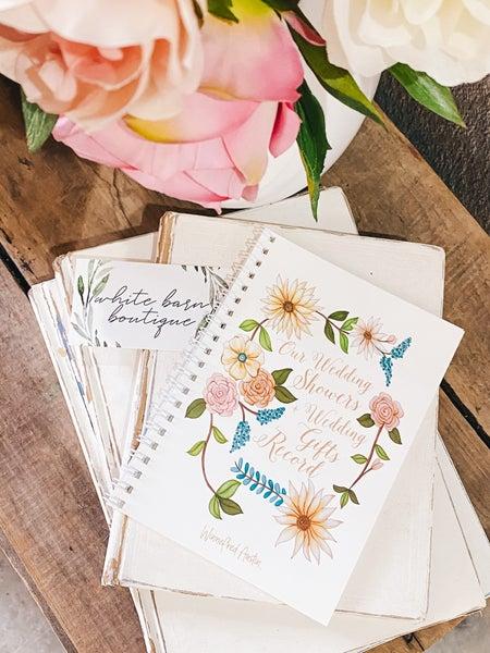 Wedding Gift Journal