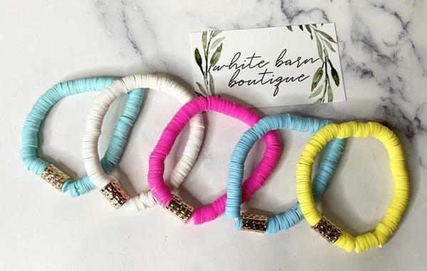 Heishi Bracelets