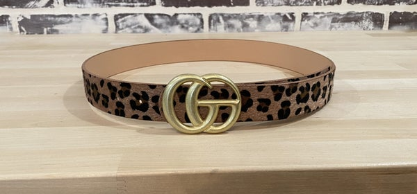Cheetah Belt