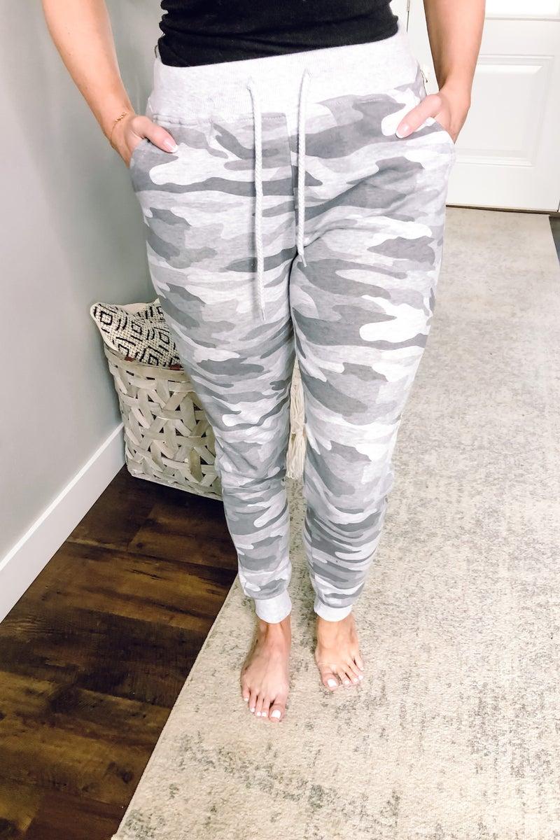 Grey Camo Jogger