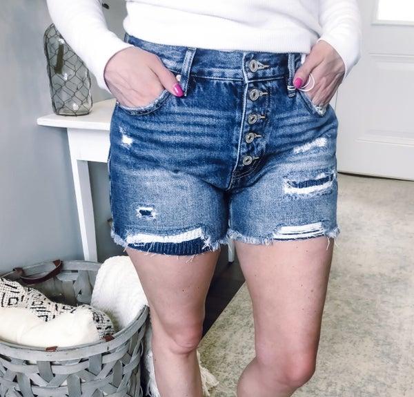 Kancan Patch Shorts