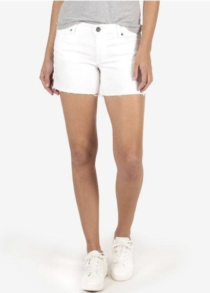 Andrea Optic White Shorts