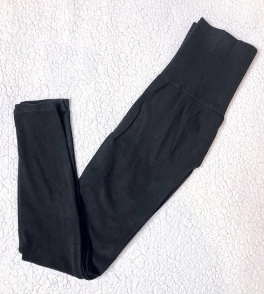 Double Knit High Waist Full Length  Legging