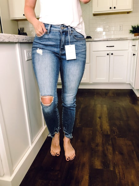 Kate High Rise Ankle Skinny