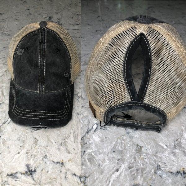 Black Pony Cap
