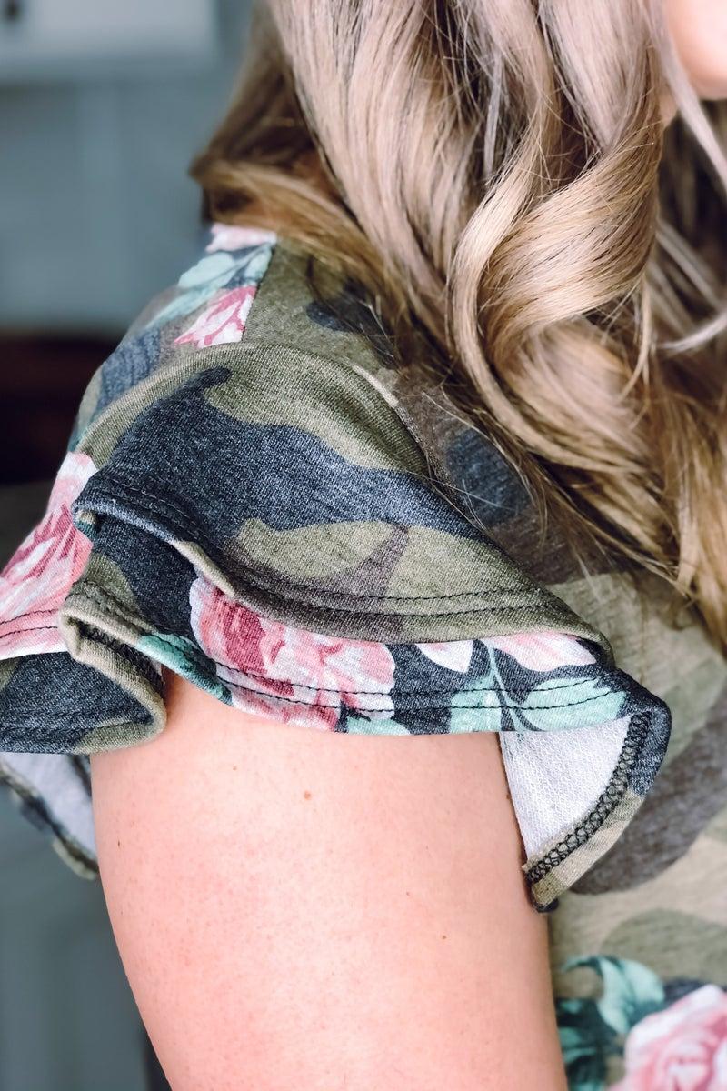 Army Rose Dress