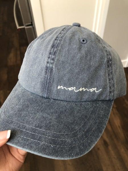 Mama Vintage Washed Hat