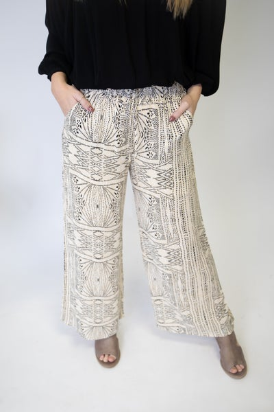 A printed Pant for Spring