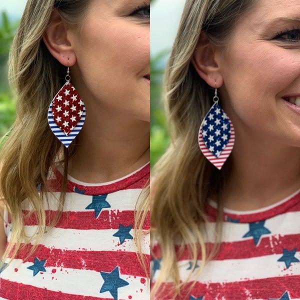 4th of July Earrings- Pre-Order