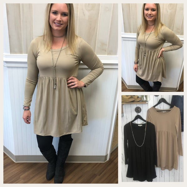 Solid Tunic/Dress