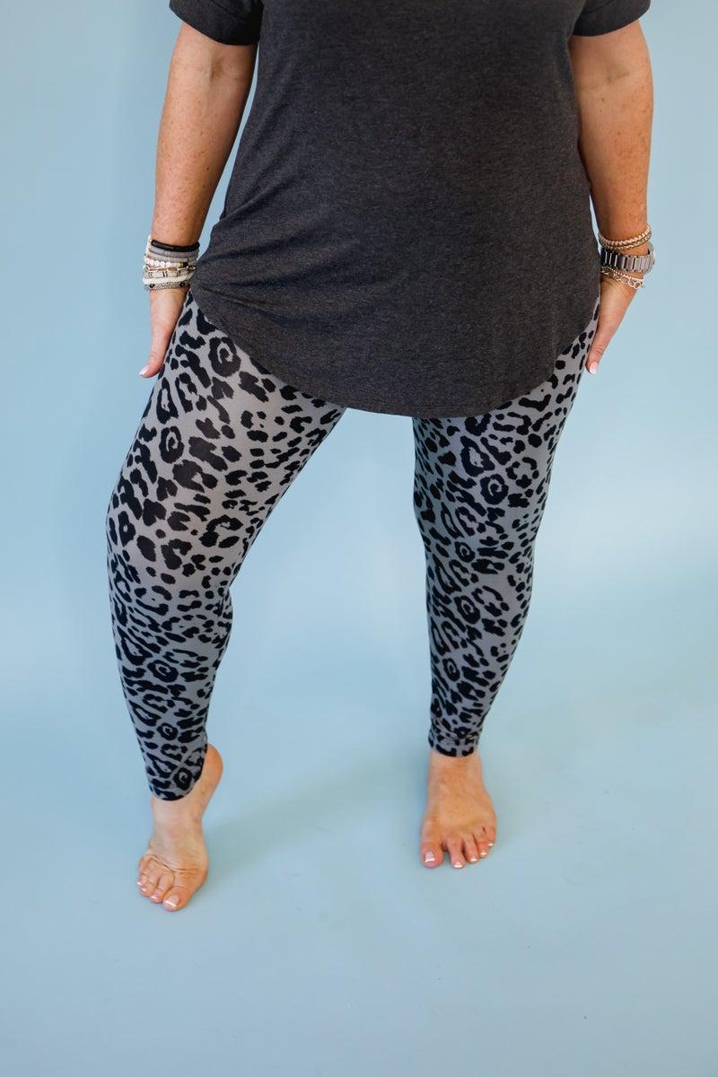 White Birch Leopard Leggings