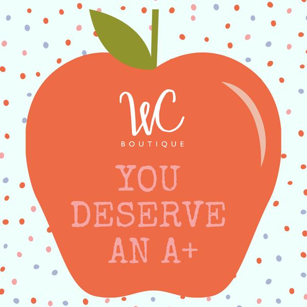 Thank a Teacher E-Gift Card