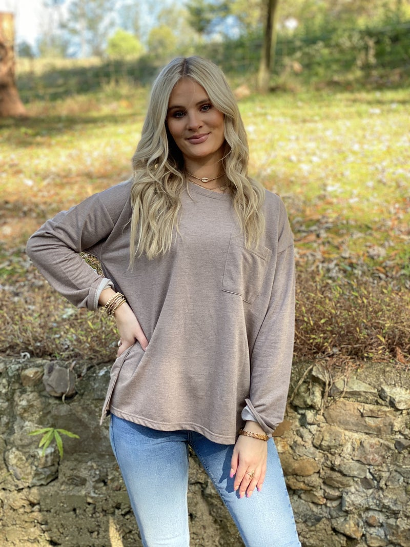 Perfect little pocket top