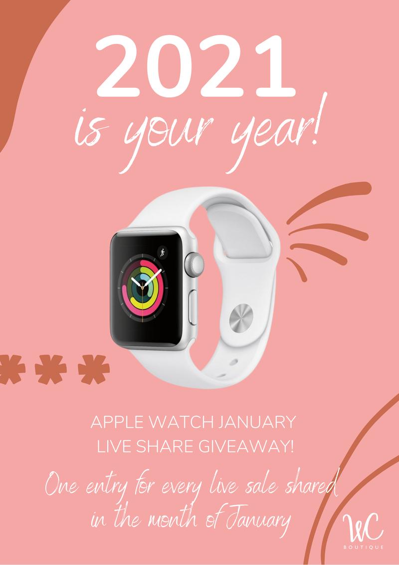 January Share Giveaway