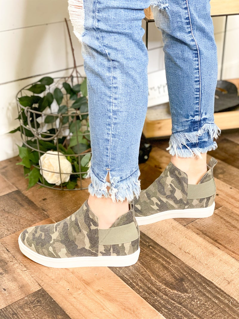 High Rise Sneakers