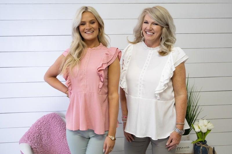 Cotton & Lace Top