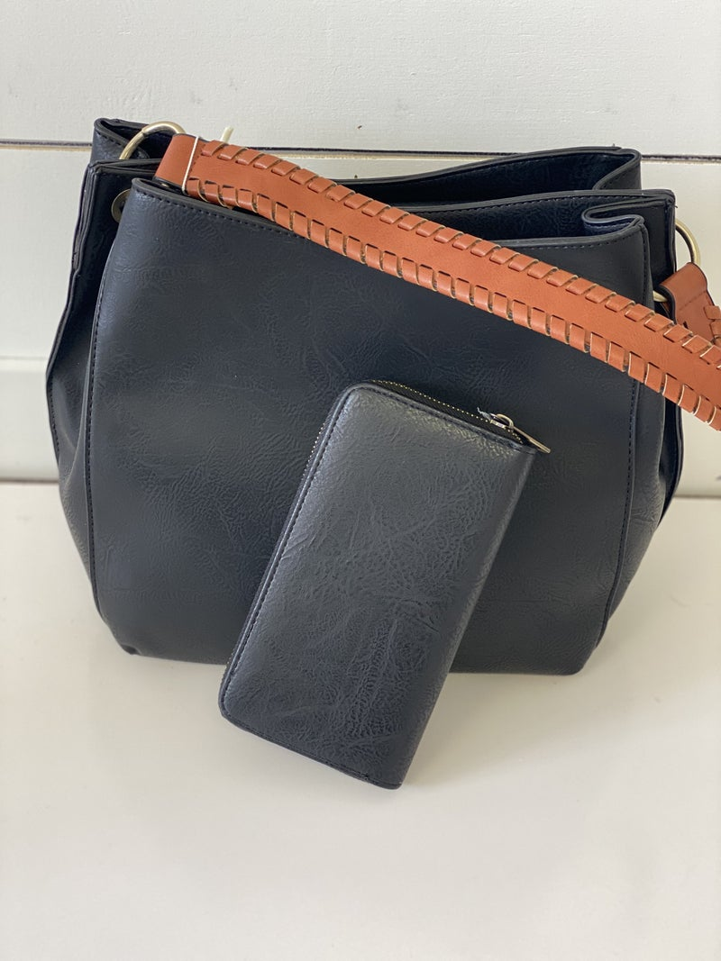 The Everyday Bag and Matching Wallet