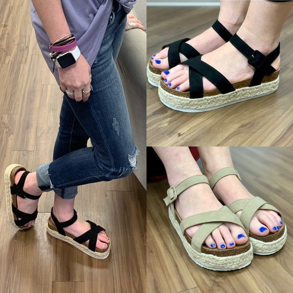 Trendy Flatform Sandals