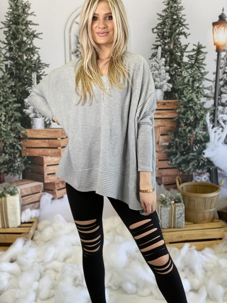 Distressed Buttery Soft Leggings