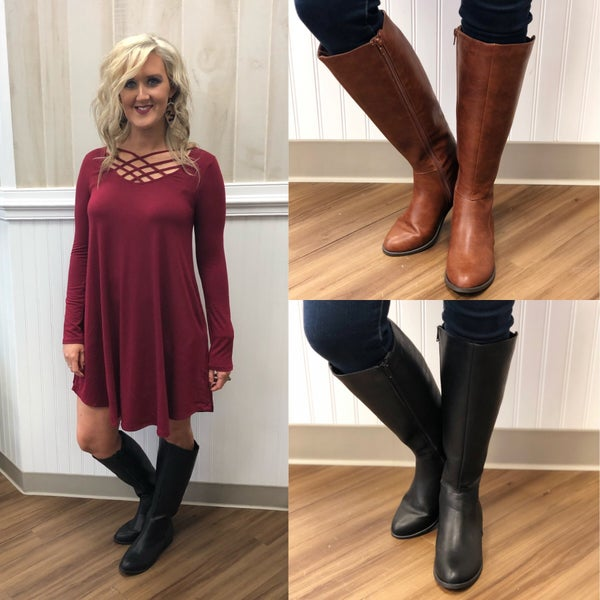 High Boots- Final Sale Item