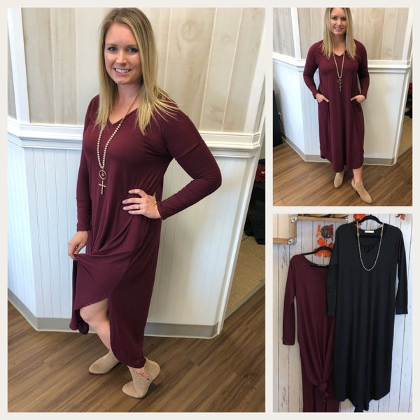 Our Favorite maxi....with long sleeves!