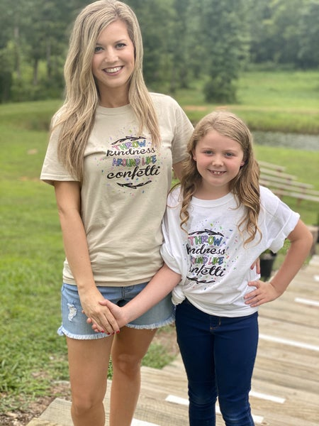Kindness mommy and mini tees