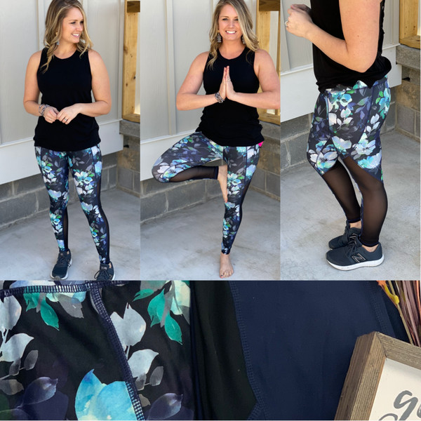 Yoga or lounging....you'll look cute either way! *Final Sale*