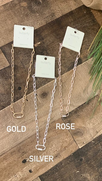 Simple is best necklace