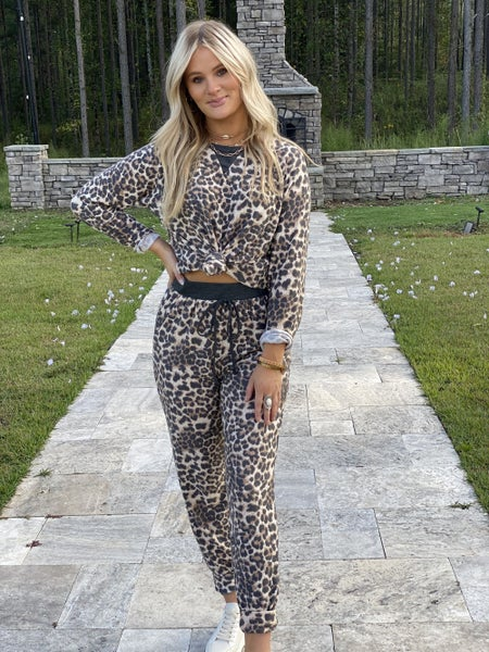 Leopard Lounging Lady- Pieces Sold Separately