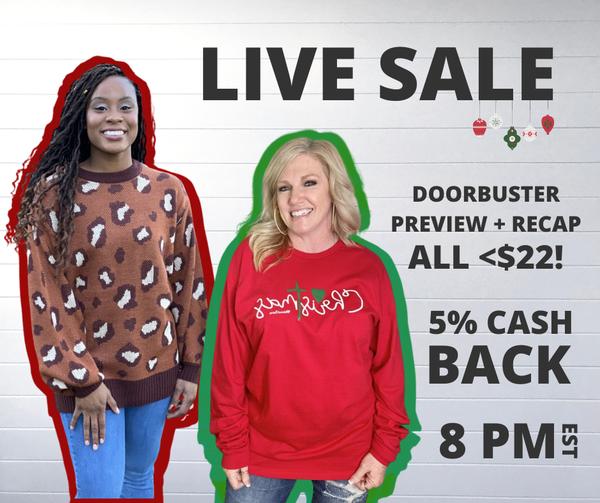 Doorbuster Live Sale