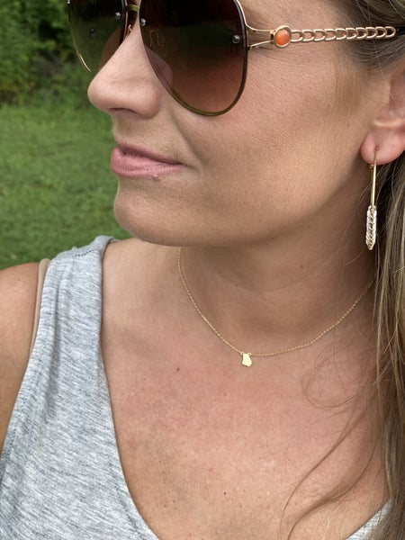 A little piece Home Necklace