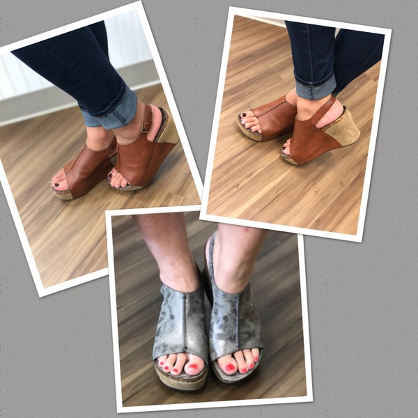Wedges for all your Fall outfits!