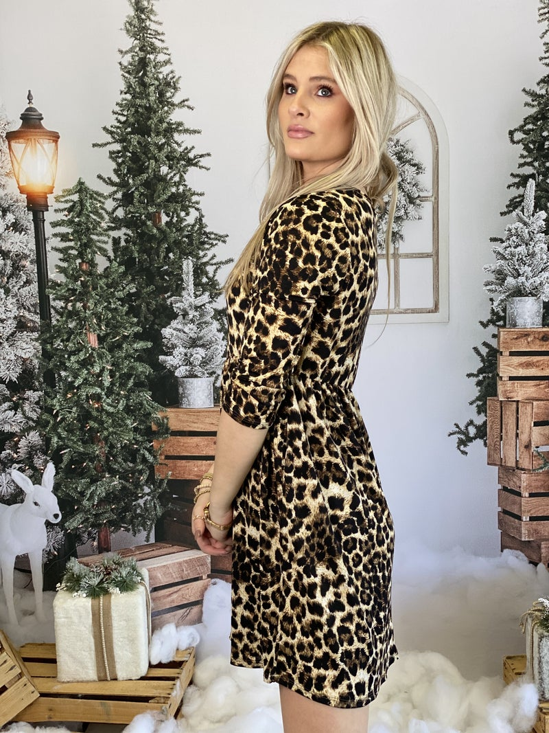 Chastity's Cheetah Dress