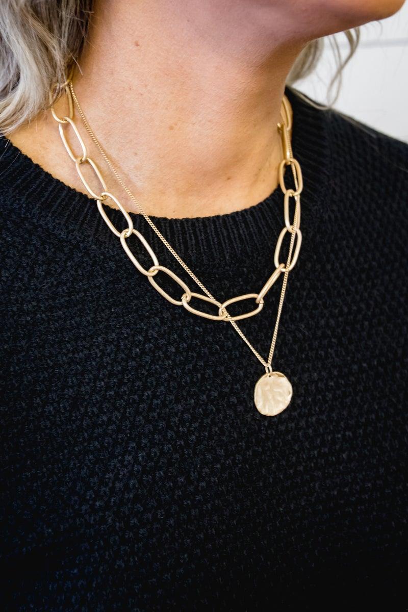 Golden Gal Necklace
