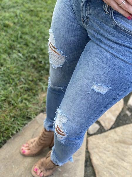 Ankle Fray Kancans