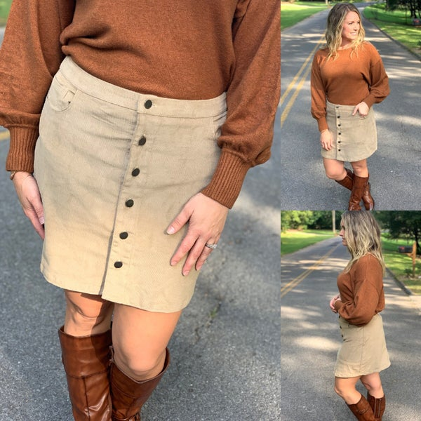 Skirts are definitely for fall