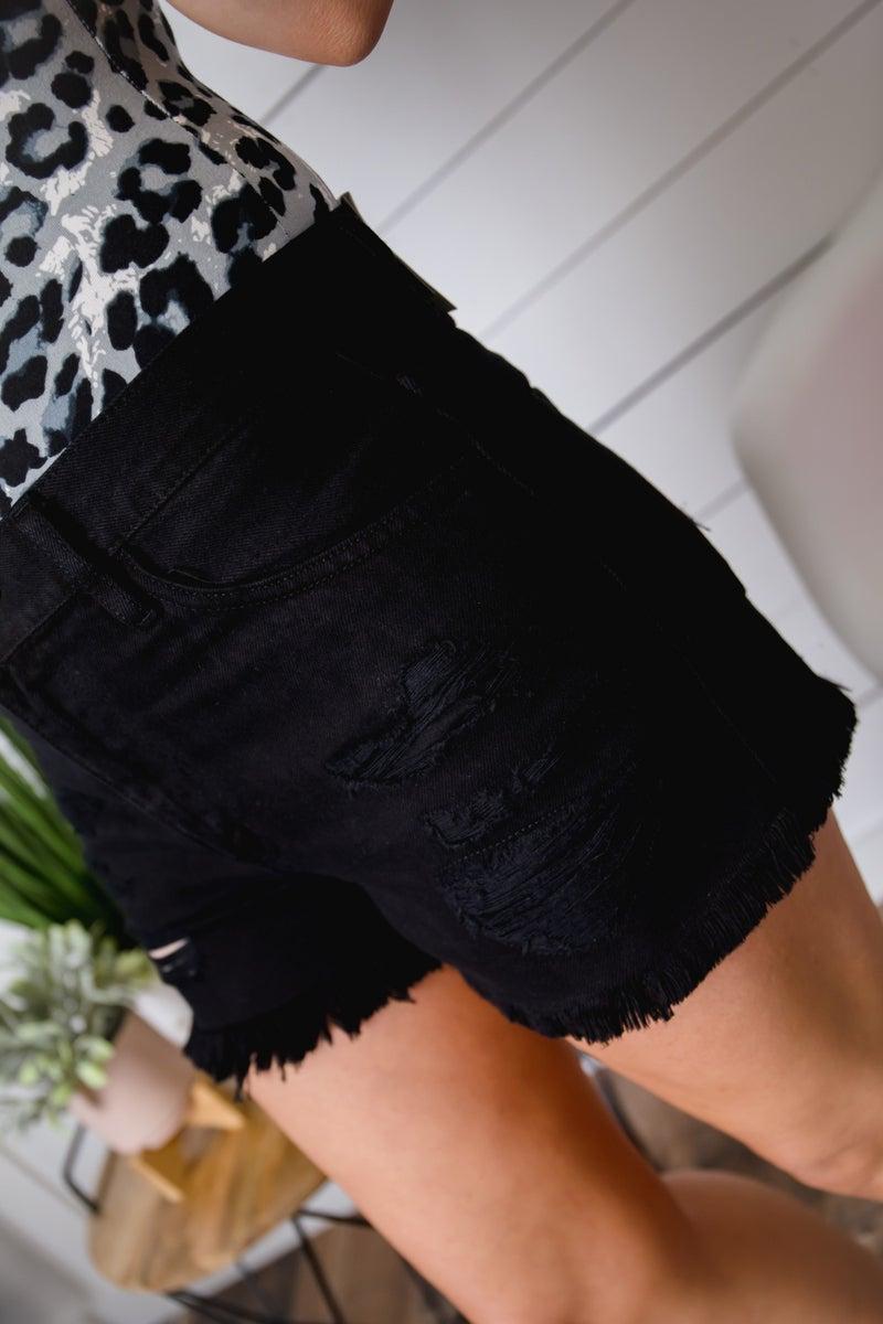 Blair's Distressed Shorts