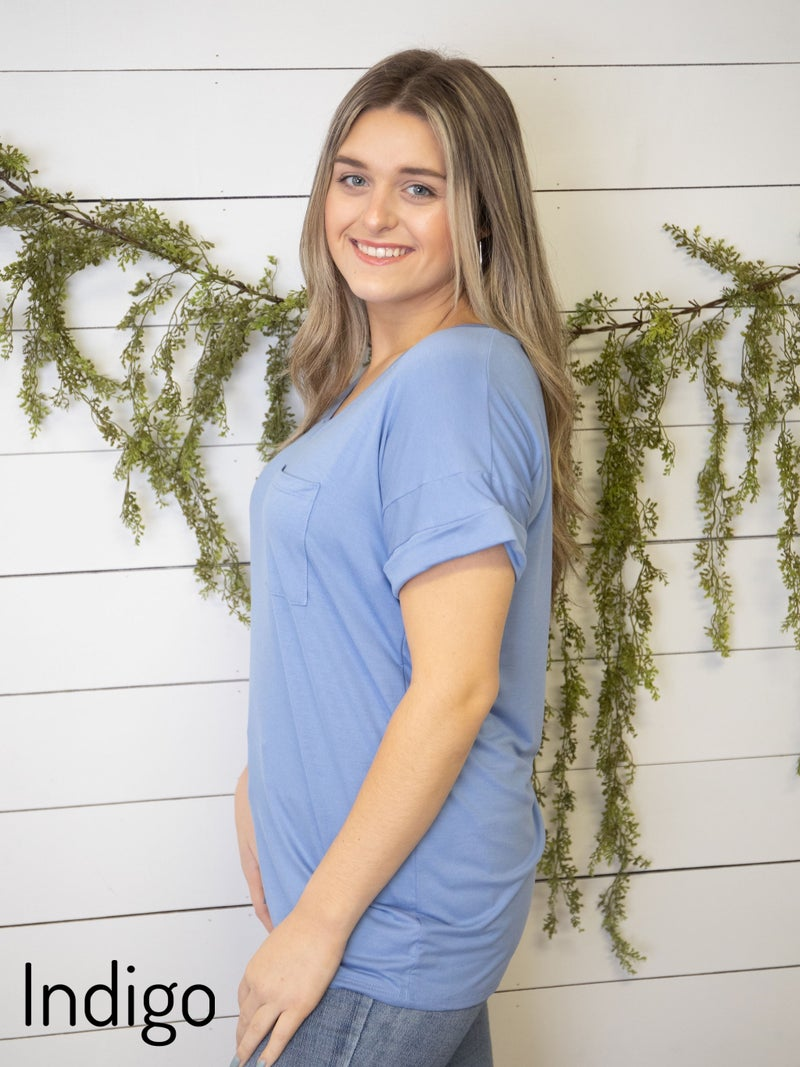 Our Favorite Pocket tees in ALL our Favorite Colors