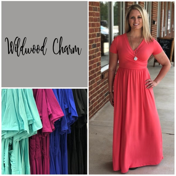 Maxi with Wrap Top