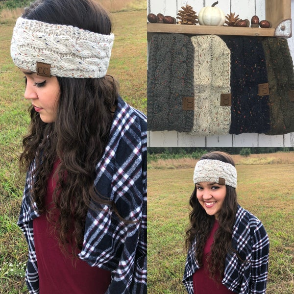 CC Sherpa Lined Headwraps