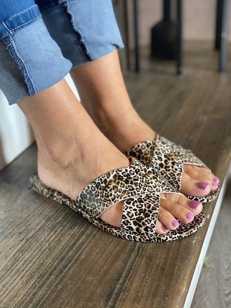 Leopard Jelly Slides