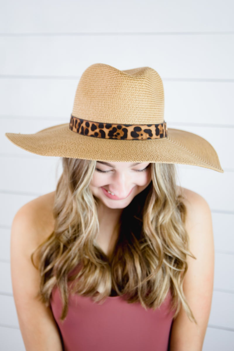Leopard Summer Hat
